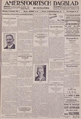 Amersfoortsch Dagblad / De Eemlander 1934-09-12