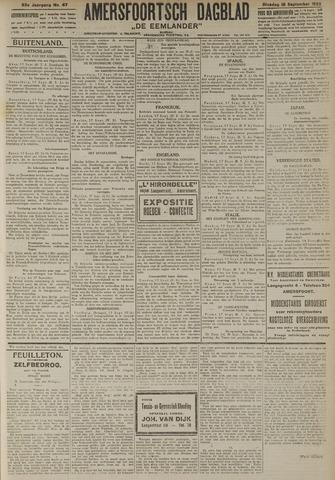 Amersfoortsch Dagblad / De Eemlander 1923-09-18