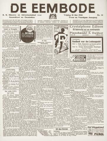 De Eembode 1928-05-18
