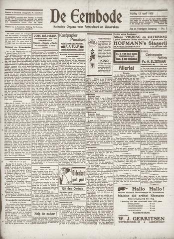 De Eembode 1932-04-15