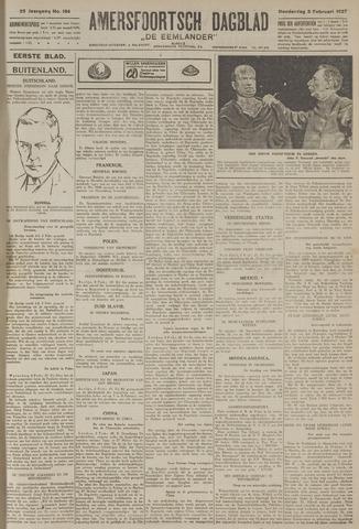 Amersfoortsch Dagblad / De Eemlander 1927-02-03