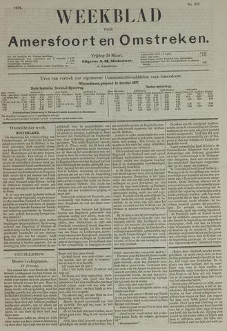 Weekblad voor Amersfoort en Omstreken 1878-03-29