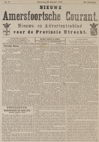 Nieuwe Amersfoortsche Courant 1916-01-29