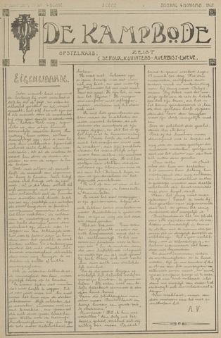 De Kampbode 1917-11-04