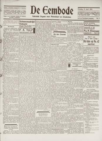De Eembode 1934-04-10