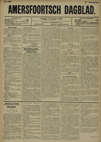 Amersfoortsch Dagblad 1905-01-06