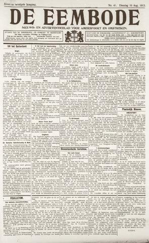 De Eembode 1913-08-19