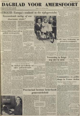 Dagblad voor Amersfoort 1950-04-18