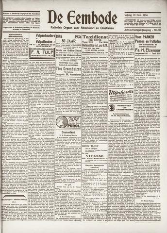 De Eembode 1934-11-16