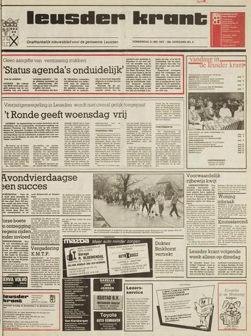 Leusder Krant 1987-05-21