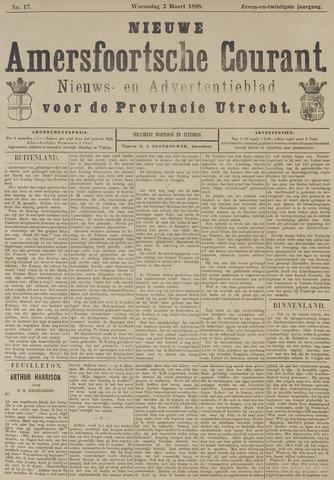 Nieuwe Amersfoortsche Courant 1898-03-02