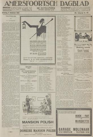 Amersfoortsch Dagblad / De Eemlander 1929-11-09