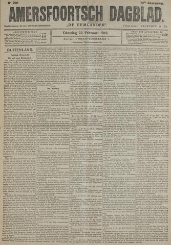 Amersfoortsch Dagblad / De Eemlander 1916-02-22