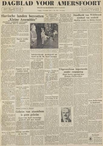 Dagblad voor Amersfoort 1947-11-07