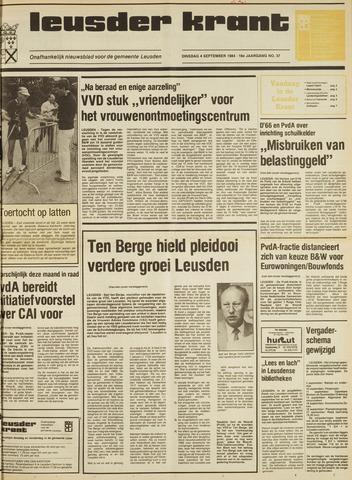 Leusder Krant 1984-09-04