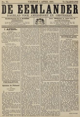 De Eemlander 1910-04-01