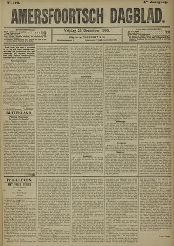 Amersfoortsch Dagblad 1905-12-22