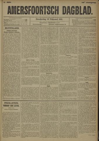 Amersfoortsch Dagblad 1912-02-29