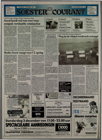 Soester Courant 1999-12-01