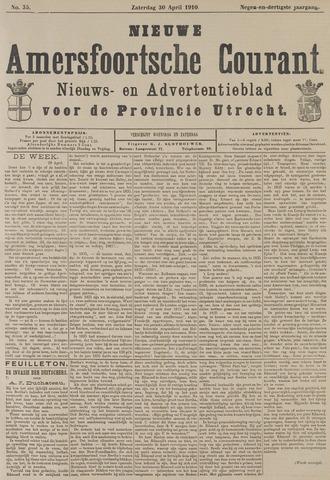 Nieuwe Amersfoortsche Courant 1910-04-30