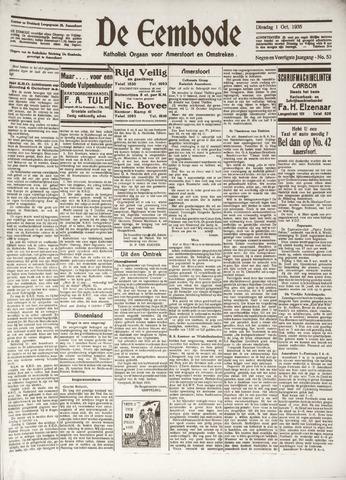 De Eembode 1935-10-01
