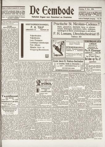 De Eembode 1934-11-27