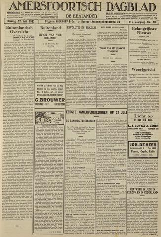 Amersfoortsch Dagblad / De Eemlander 1932-07-12