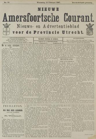Nieuwe Amersfoortsche Courant 1907-02-13