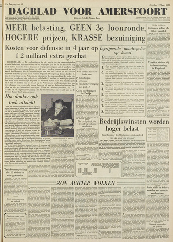 Dagblad voor Amersfoort 1951-03-17