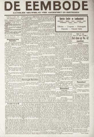 De Eembode 1921-12-09