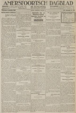 Amersfoortsch Dagblad / De Eemlander 1928-12-12