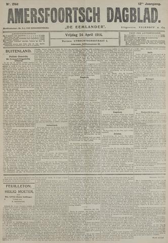 Amersfoortsch Dagblad / De Eemlander 1914-04-24