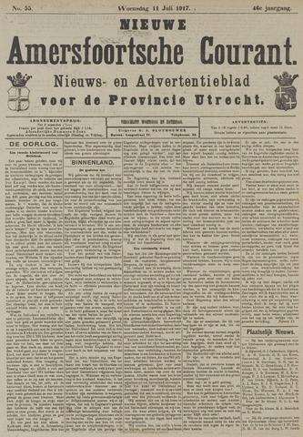 Nieuwe Amersfoortsche Courant 1917-07-11