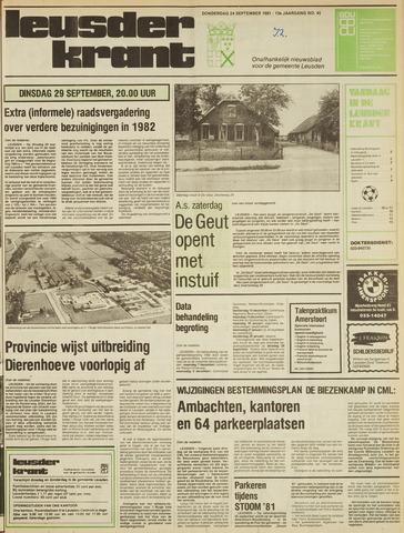 Leusder Krant 1981-09-24