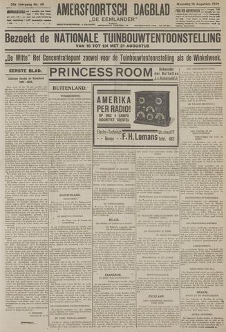Amersfoortsch Dagblad / De Eemlander 1926-08-16