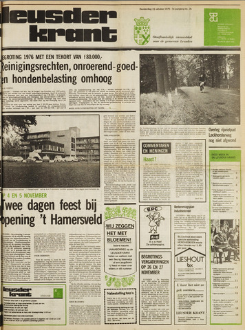 Leusder Krant 1975-10-23