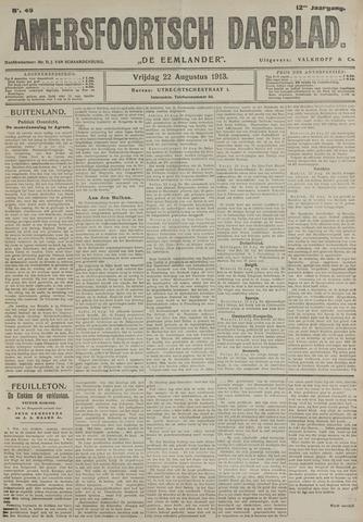 Amersfoortsch Dagblad / De Eemlander 1913-08-22
