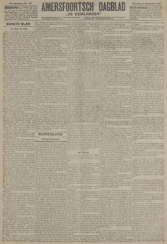Amersfoortsch Dagblad / De Eemlander 1918-11-02