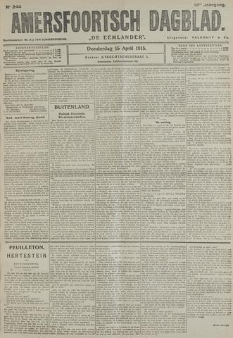 Amersfoortsch Dagblad / De Eemlander 1915-04-15
