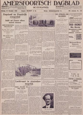 Amersfoortsch Dagblad / De Eemlander 1936-11-24