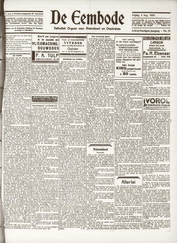 De Eembode 1934-08-03