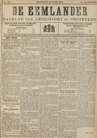 De Eemlander 1908-06-22