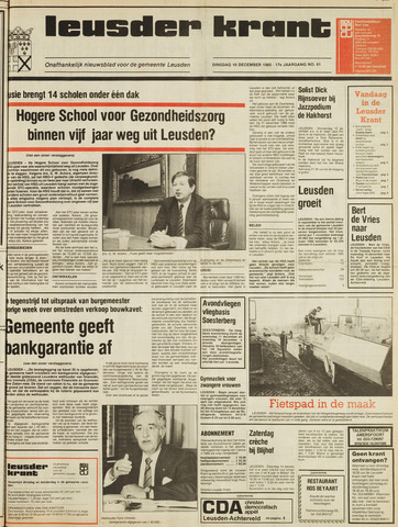Leusder Krant 1985-12-10