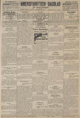 Amersfoortsch Dagblad / De Eemlander 1927-07-04