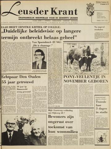 Leusder Krant 1972-11-09