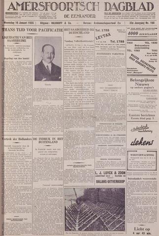 Amersfoortsch Dagblad / De Eemlander 1935-01-16