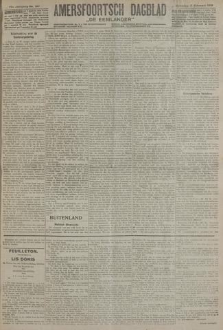 Amersfoortsch Dagblad / De Eemlander 1919-02-17