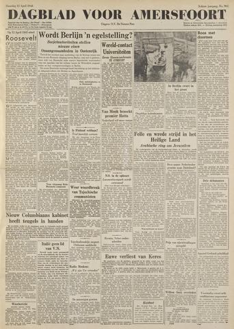 Dagblad voor Amersfoort 1948-04-12