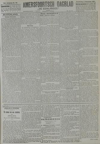 Amersfoortsch Dagblad / De Eemlander 1921-11-17