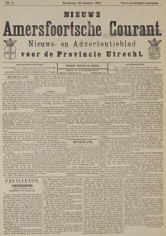 Nieuwe Amersfoortsche Courant 1903-01-28